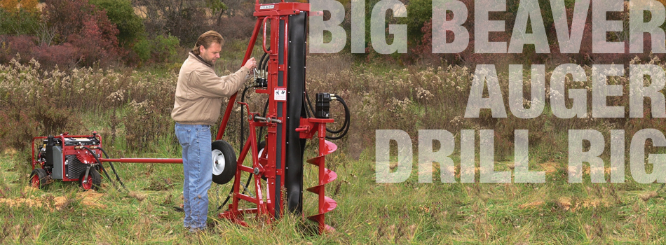 Little Beaver Big Beaver Drill Rig