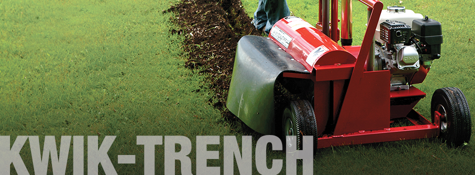 Kwik-Trench Mini-Trencher | Little Beaver