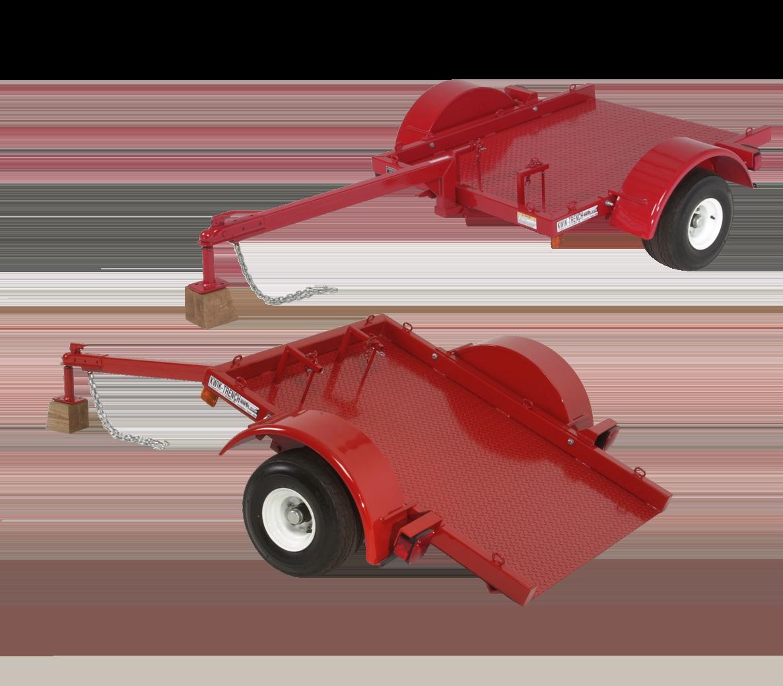 Kwik-Trench tilit trailer