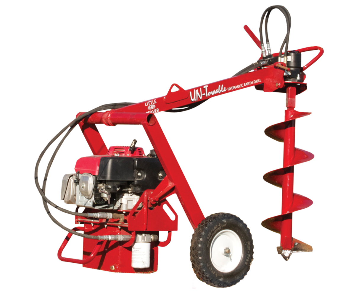 UN-Towable Hydraulic Earth Drill