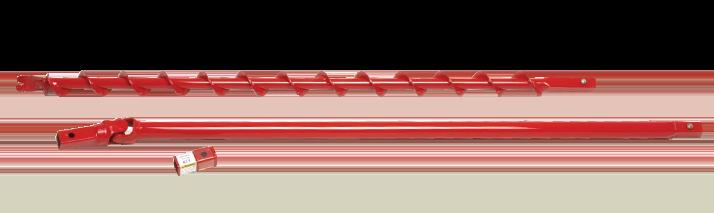 Earth drill horizontal boring attachment