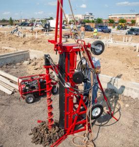 Big Beaver foundation soil sampling drill